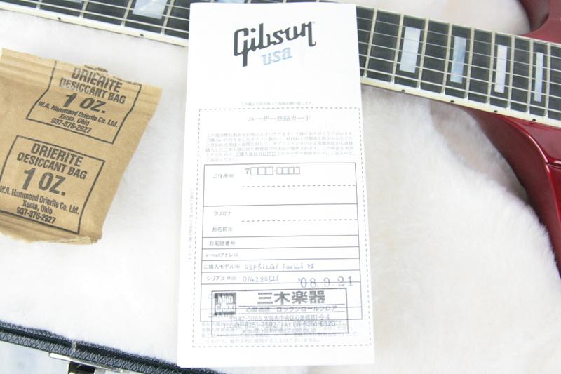 NOS 2008 Gibson Firebird VII Metallic Red! EBONY Board! Limited