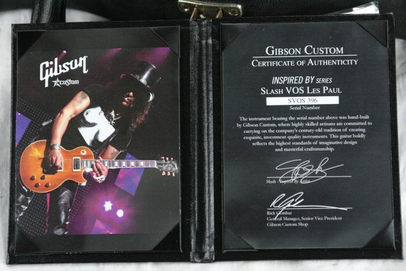2008 Gibson SLASH VOS Custom Shop Inspired By Les Paul