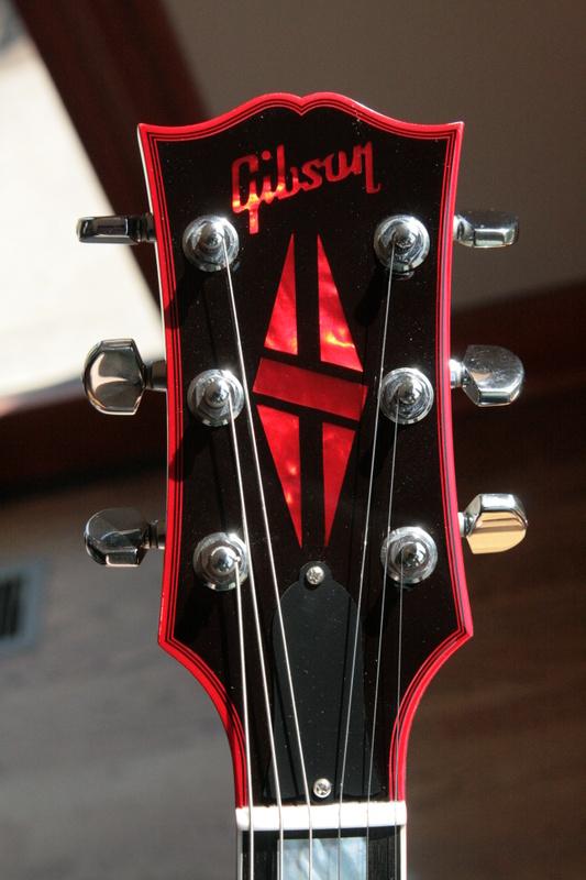 2009 Gibson Black Widow Les Paul 1 Of 25 Custom Shop
