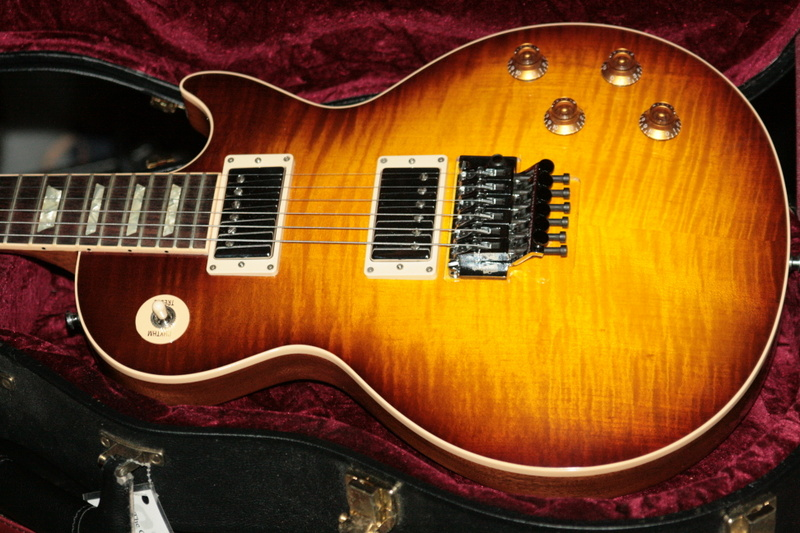 2014 Gibson Custom Alex Lifeson Les Paul Axcess Standard