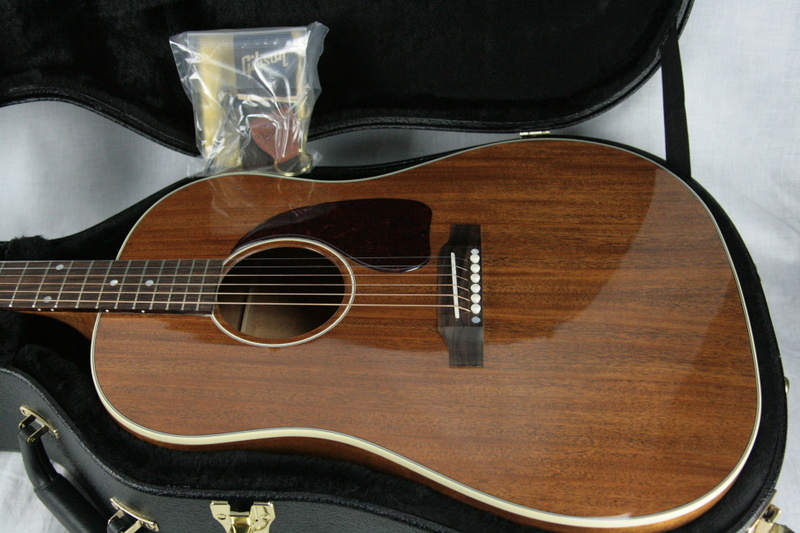 2018 gibson montana j 45 all mahogany acoustic electric. Black Bedroom Furniture Sets. Home Design Ideas
