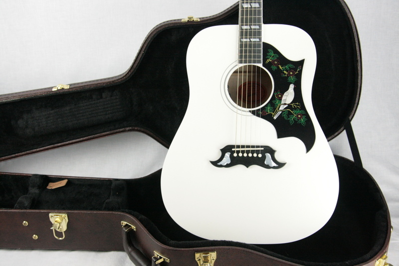 2018 gibson montana white dove limited edition acoustic guitar hummi kansas city vintage guitars. Black Bedroom Furniture Sets. Home Design Ideas
