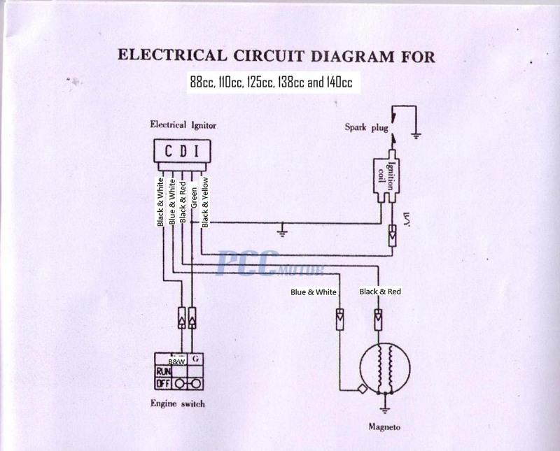 1985 honda 125m wiring diagram honda 185s wiring diagram