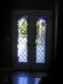 Traditional leaded glass