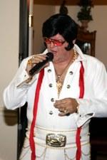 "Dan Devivo as ""Elvis"""