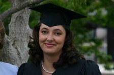 Amanda's graduation from CU