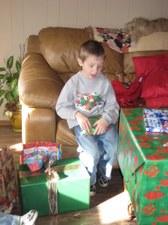 Christmas 2008 at Vicki's house