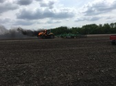 Goldtrap tractor fire