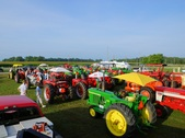 """Ride The River - 2014"" tractor ride"