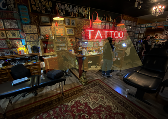 TAX ACT = HOME OFFICE AND TATTOO SHOP