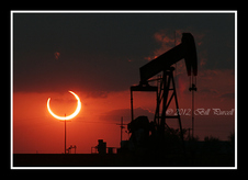 Annular Eclipse, West Texas