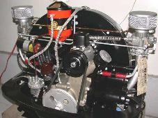 Flat-4's 36hp Okrasa Engine