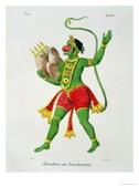 Hanuman Art from Facebook