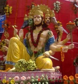 Hanuman Statues from Facebook