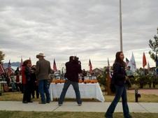 2011 11 11 Willcox AZ Vets Monument