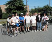 Cycling with the County Executive
