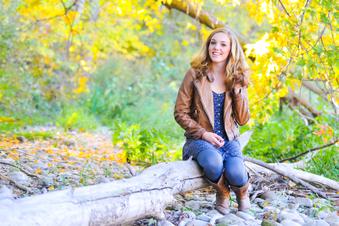 Carrie's senior pics