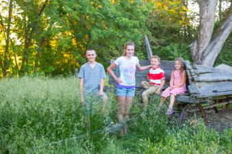 Heidi's grandkids
