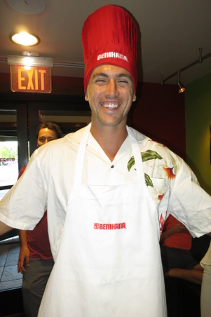Brian Be the Benihana Chef