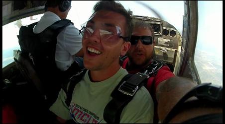 Brian & Cori Skydiving