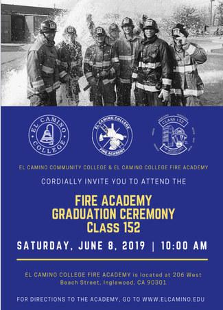El Camino Fire Academy Graduation