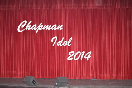 Chapman Idol 2014
