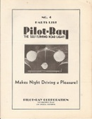 Pilot-Ray Automatic Driving Lamp