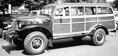 CantrellPower Wagon woodie