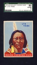 Sold-1933 Goudey Indian Gum
