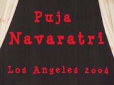 Navaratri Puja 2004