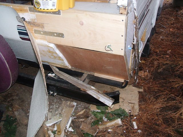 0923 Pop up water damage