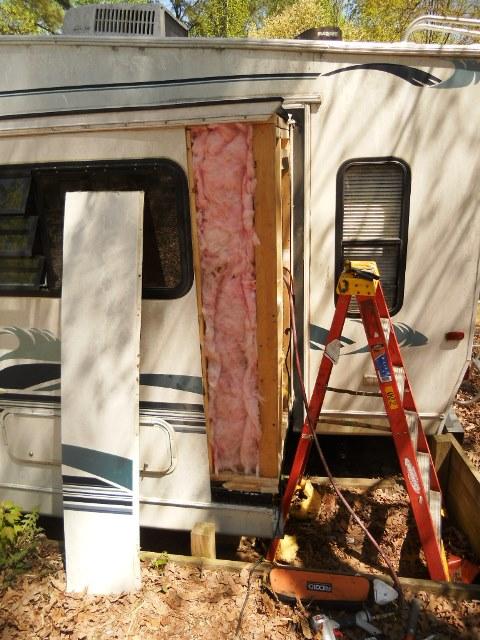 Lake Royale Slide Out Repair