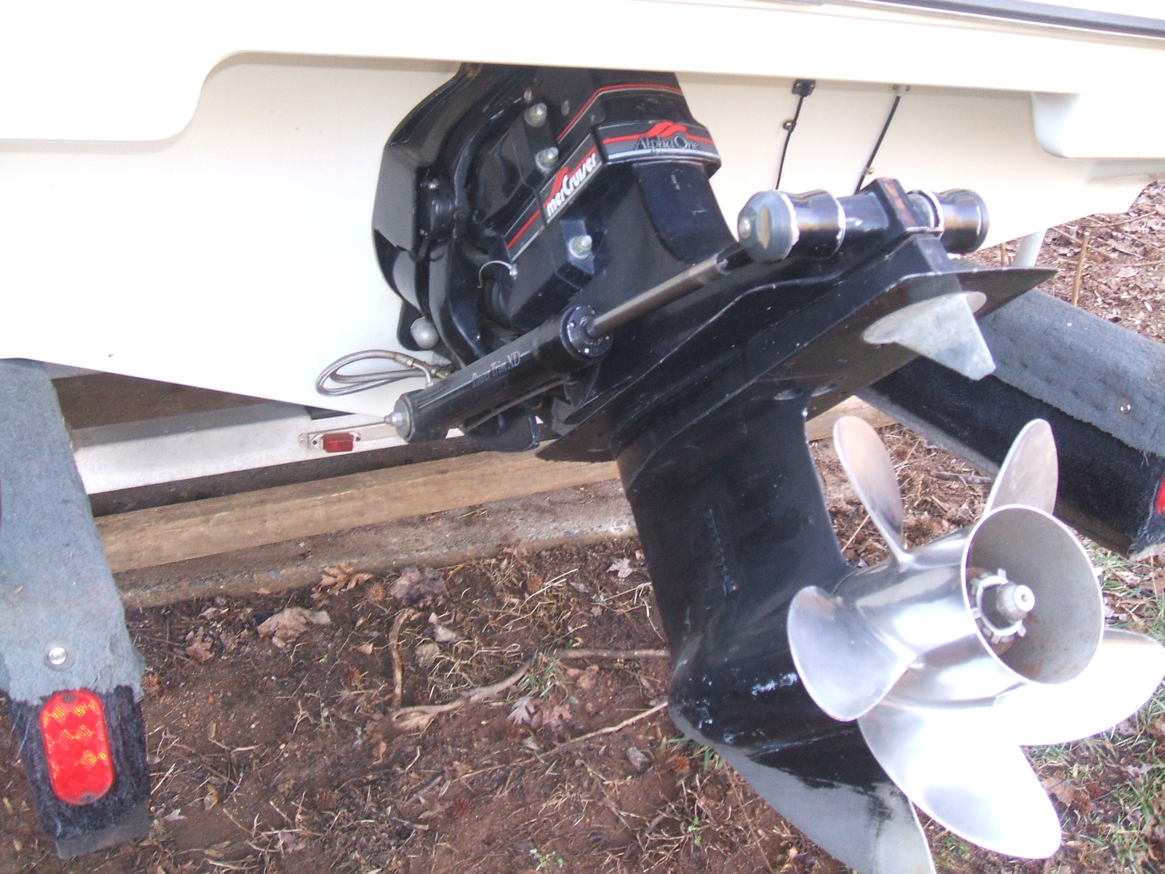 Boat Project Sold to Scott June 1, 2009