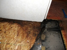 Slide Out Water Damage