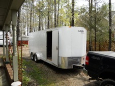 Work Trailer Conversion
