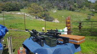 Good Friday Shoot in Dunlap, CA