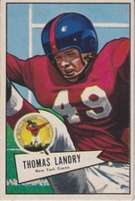 1952 Bowman (Small) NFL Football set