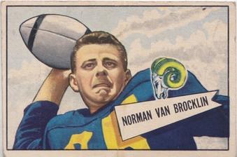 1952 Bowman (small) NFL Football set