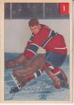 1954-55 Parkhurst Hockey set