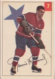 1954-55 Parkhurst NHL Hockey set