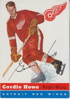 1954-55 Topps NHL Hockey set