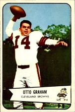 1954 Bowman NFL Football set