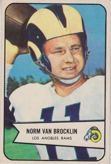 1954 Bowman NFL Football set