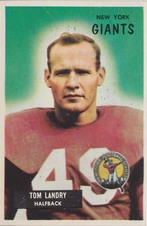 1955 Bowman NFL Football set