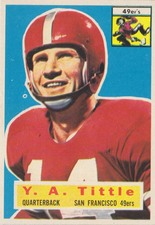 1956 Topps NFL Football set