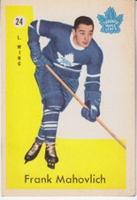 1959-60 Parkhurst NHL Hockey set