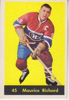 1960-61 Parkhurst NHL Hockey set