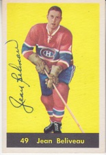 1960-61 Parkhurst NHL Hockey set