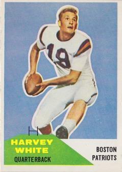 1960 Fleer AFL Football set