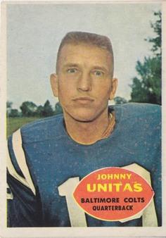 1960 Topps NFL Football set